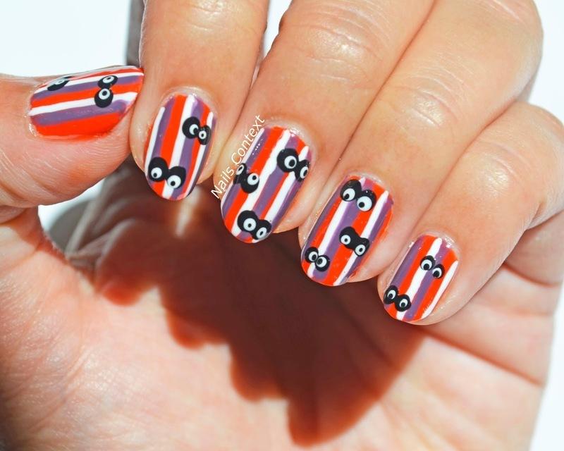 Halloween Nails  nail art by NailsContext