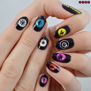 The War: The Power of Music nail art by Becca (nyanails)