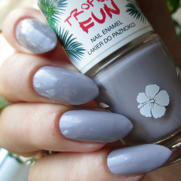 Bell Tropical Fun szary Swatch by Yenotek