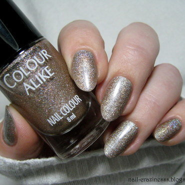 Colour Alike 628 Without You Swatch by Nail Crazinesss