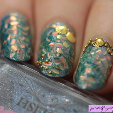 Angled mermaid nails thumb370f