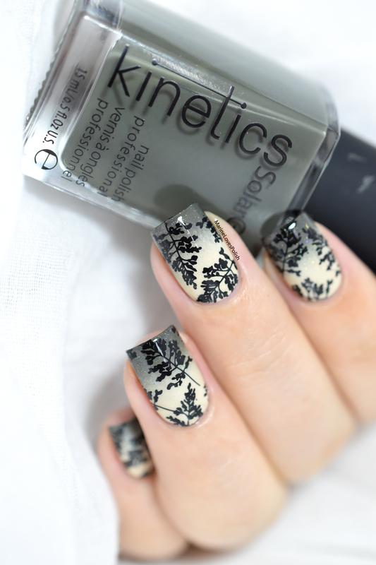 autumn foliage nail art by Marine Loves Polish