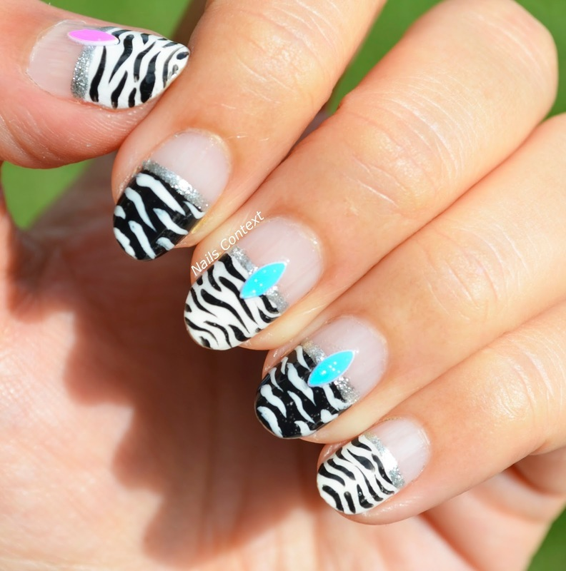 Zebra Nail Art Nail Art By Nailscontext Nailpolis Museum Of Nail Art