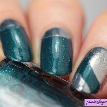 Half moon chrome nails thumb370f