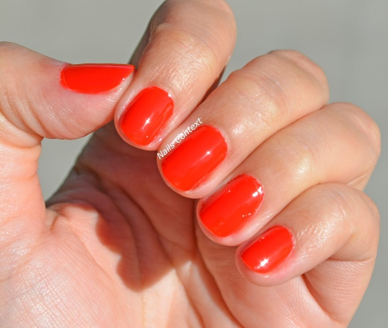 OPI Infinite Shine Can't Tame A Wild Thing Swatch by NailsContext