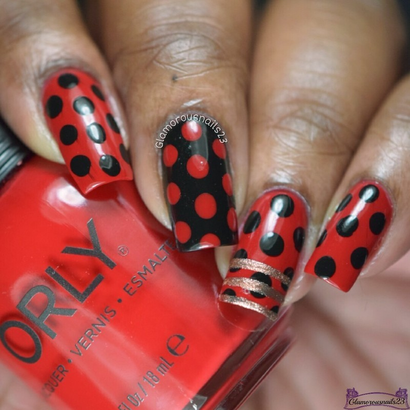 30 Days Of Colour February 2017 Week 5 - Recreation nail art by glamorousnails23