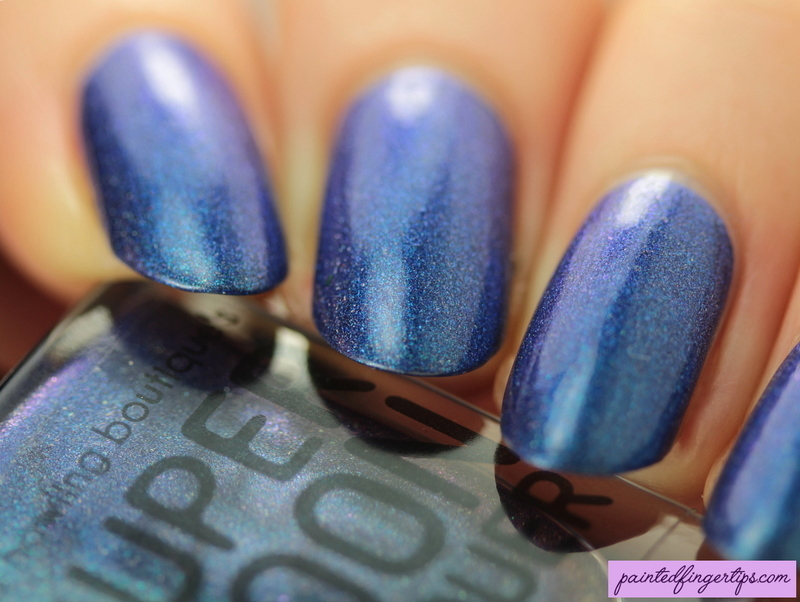 Supermoon lacquer Pistol Star Swatch by Kerry_Fingertips