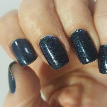 Blue...Whatelse nail art by Katarinna