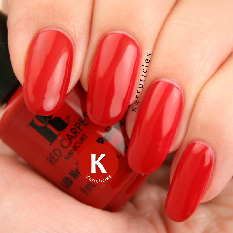 Red Carpet Manicure Red Carpet Ready Swatch by Claire Kerr