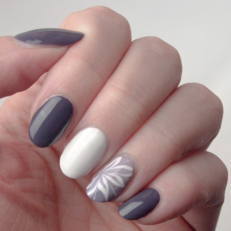 Friday Triad: inspired by @ane_li nail art by What's on my nails today?