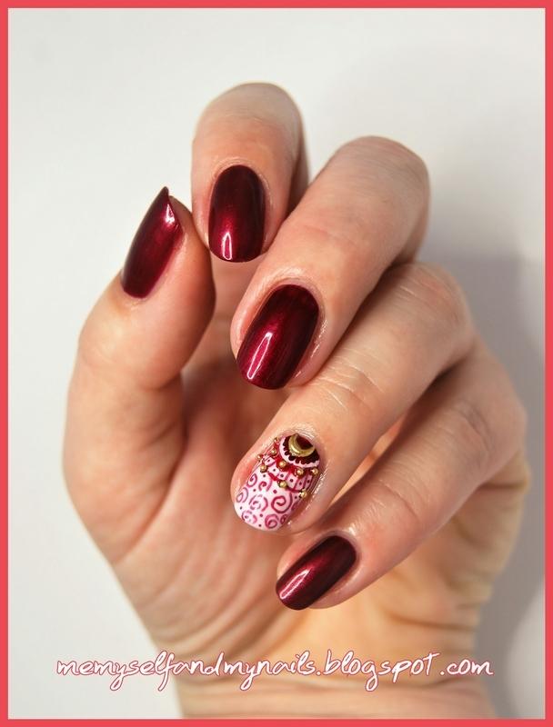 vINES nail art by ELIZA OK-W