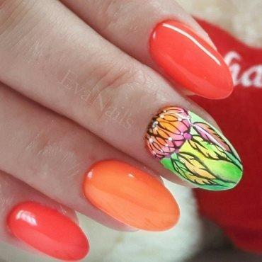 dream cacher nail art by Ewa EvaNails