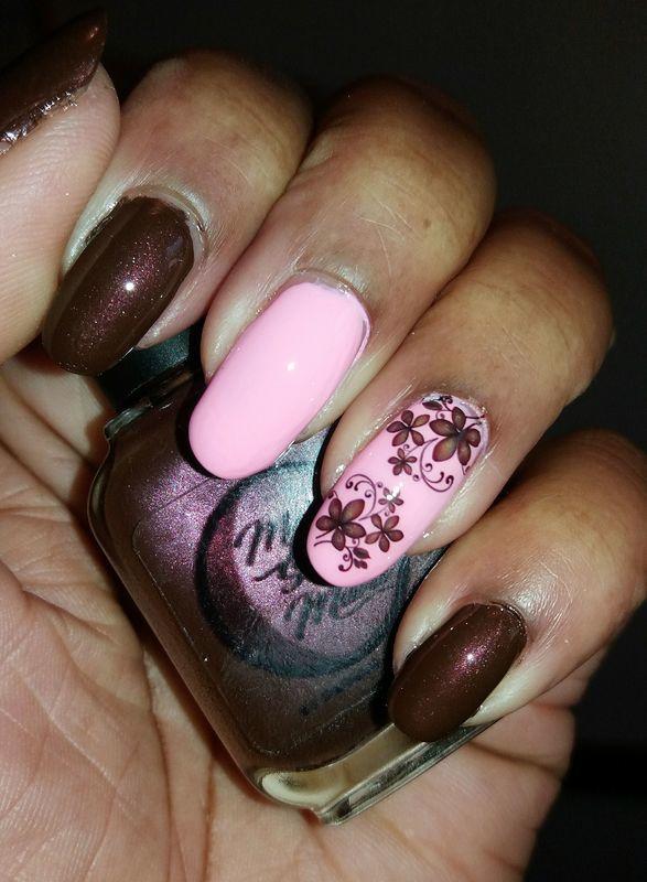 Big River Buck nail art by Jackie Bodick