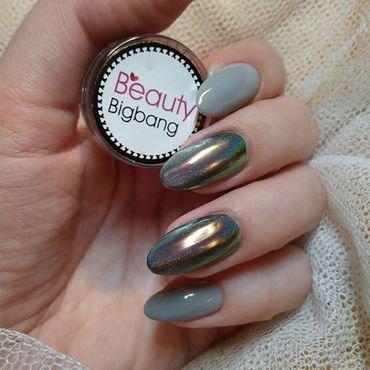 holo nail art nail art by beautybigbang
