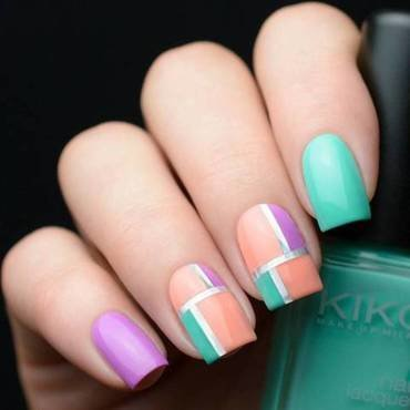 french nails nail art by beautybigbang