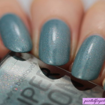 Supermoon lacquer Party Monarch Swatch by Kerry_Fingertips