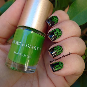 Matrix nail art by Dora Cristina Fernandes