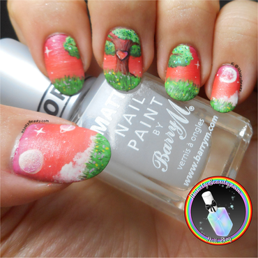 The Heart Tree nail art by Ithfifi Williams