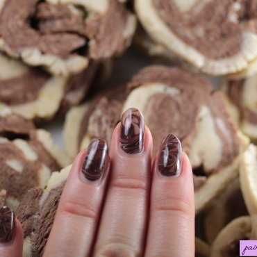 Nails and cookies nail art by Kerry_Fingertips