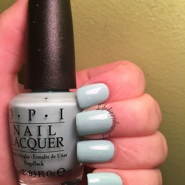 OPI Gelato on my Mind Swatch by lifedippedinpolish