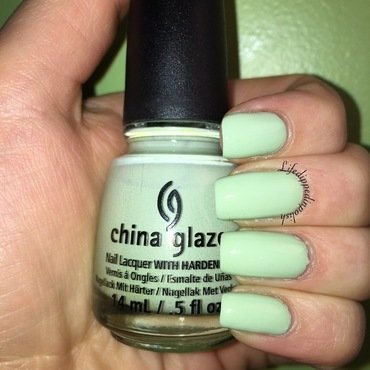 China Glaze Refresh mint Swatch by lifedippedinpolish