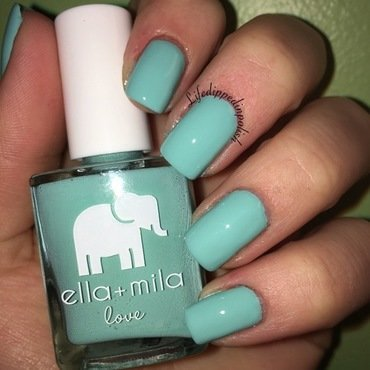 ella+mila Ibiza breeze Swatch by lifedippedinpolish