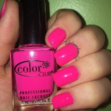 Color Club Poptastic Swatch by lifedippedinpolish