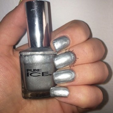 Pure Ice Silver Mercedes Swatch by lifedippedinpolish