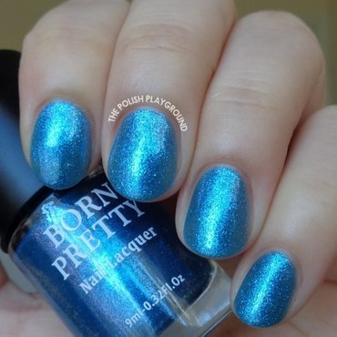 Born Pretty Z005 Ocean Illusion Swatch by Lisa N