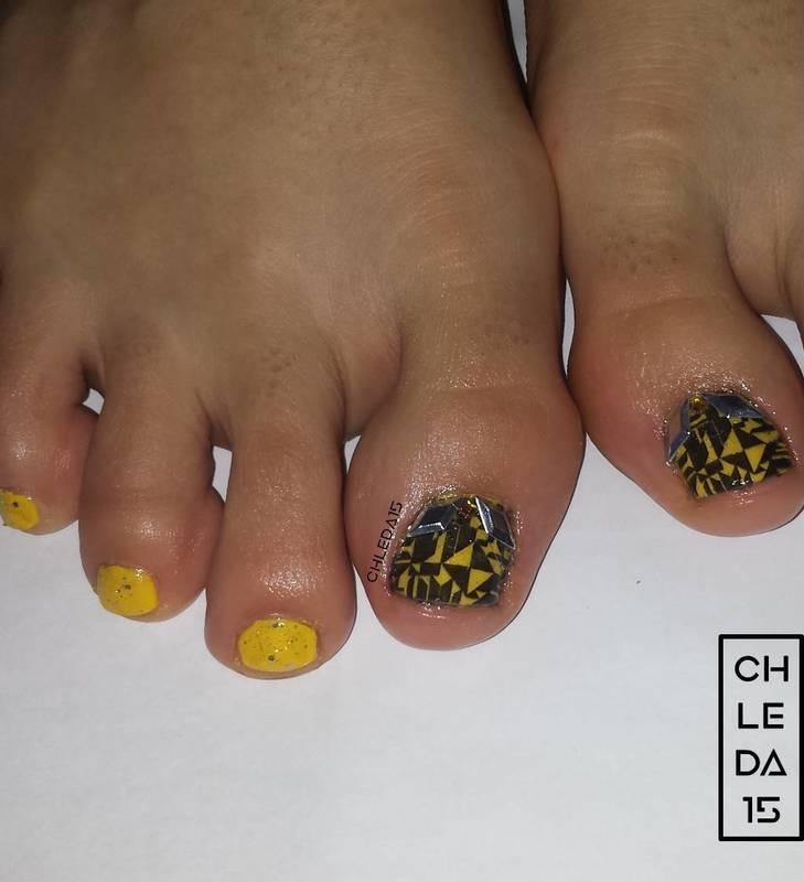 Shape Soup nail art by chleda15
