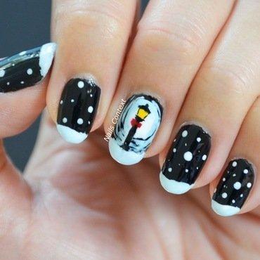 Christmas Stroll nail art by NailsContext