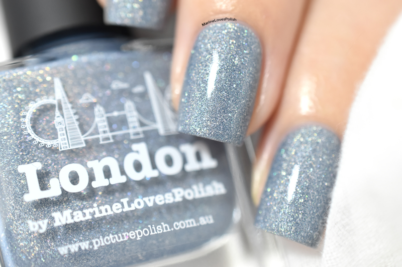 piCture pOlish London Swatch by Marine Loves Polish