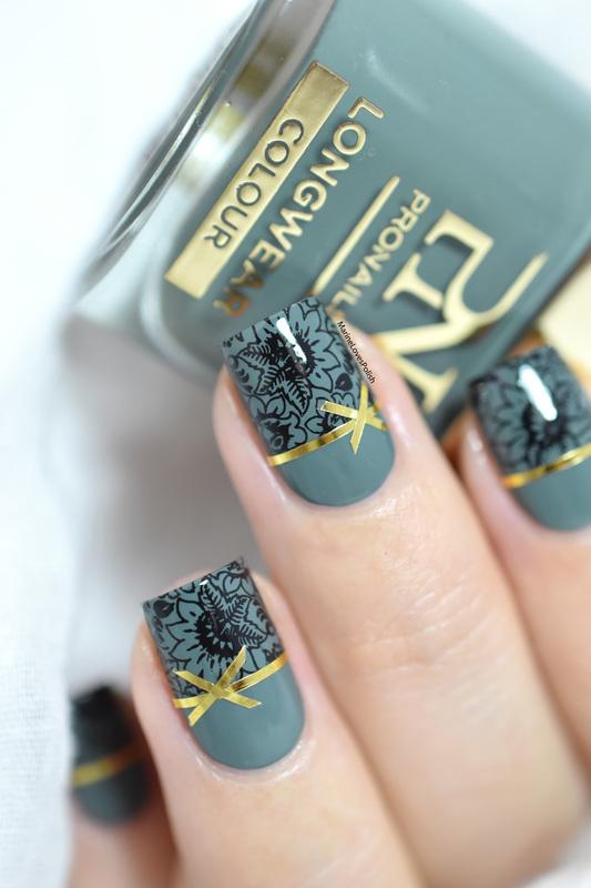 Christmas gifts nails! nail art by Marine Loves Polish
