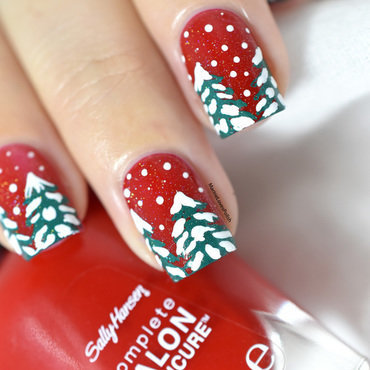 Sally hansen right said red snow trees sapins enneig c3 a9s 20 4  thumb370f