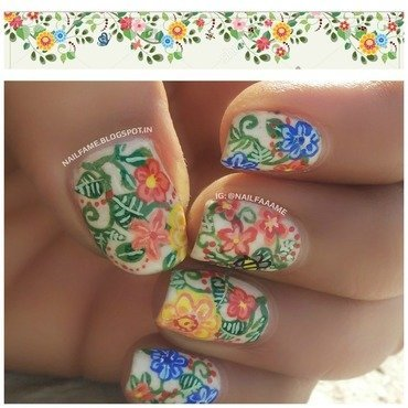 EARTH DAY SPECIAL nail art by Nailfame