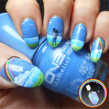 New Years Day Nail Art - Embrace the new year!  nail art by Ithfifi Williams
