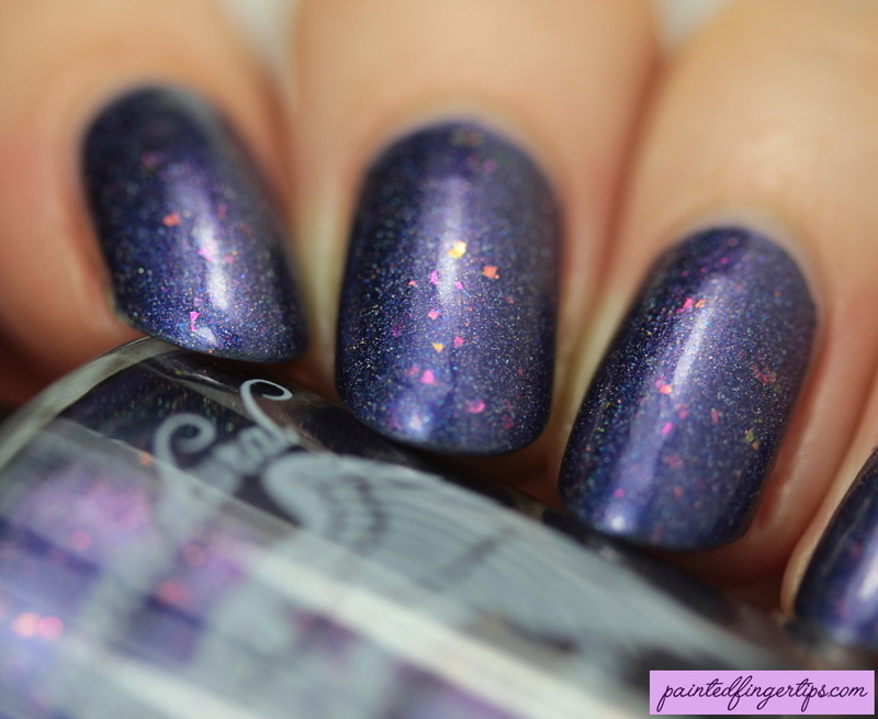 Supernatural Lacquer Como se Llama-corn? Swatch by Kerry_Fingertips