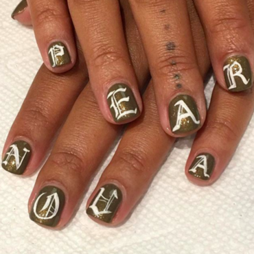 pearnova nail art by Kristen Lovett