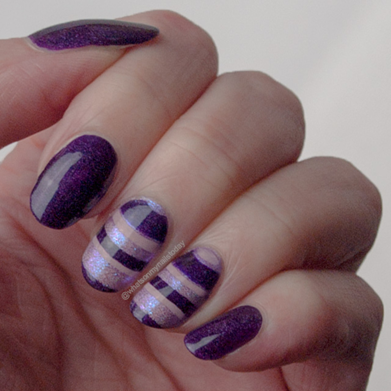 #52weeknailchallenge - week 2: Water marble nail art by What's on my nails today?