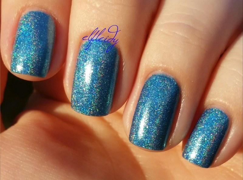 Cupcake Polish Mystic Blue Swatch by Jenette Maitland-Tomblin