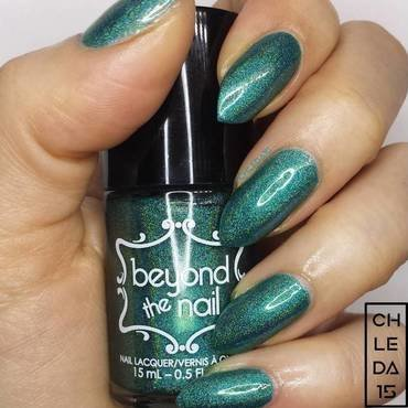 "Beyond The Nail ""Beyond the Teal"" Swatch by chleda15"
