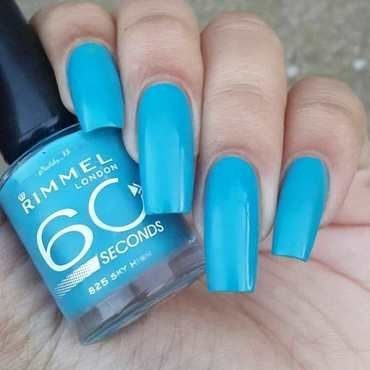 Rimmel London 825 sky high Swatch by nailsofkh
