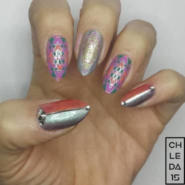 2018 #3 nail art by chleda15