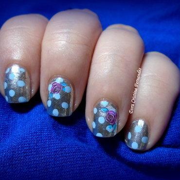 Papel de Embrulho nail art by Dora Cristina Fernandes