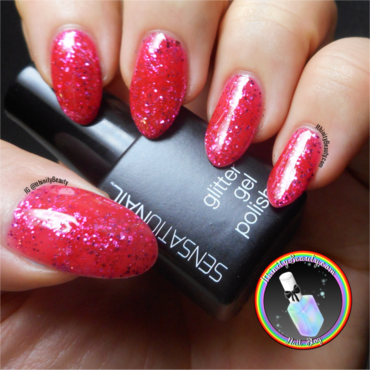 SensatioNail Fuchsia Fireworks Swatch by Ithfifi Williams