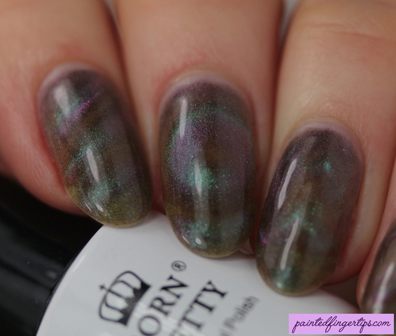 Magnetic gel polish nail art by Kerry_Fingertips - Nailpolis: Museum ...