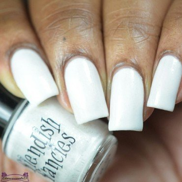 Fiendish Fancies The White Swatch by glamorousnails23