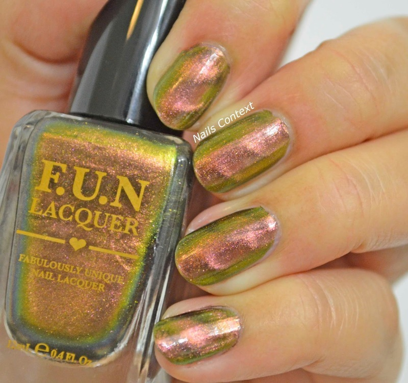 Fun Lacquer Harmony Swatch by NailsContext