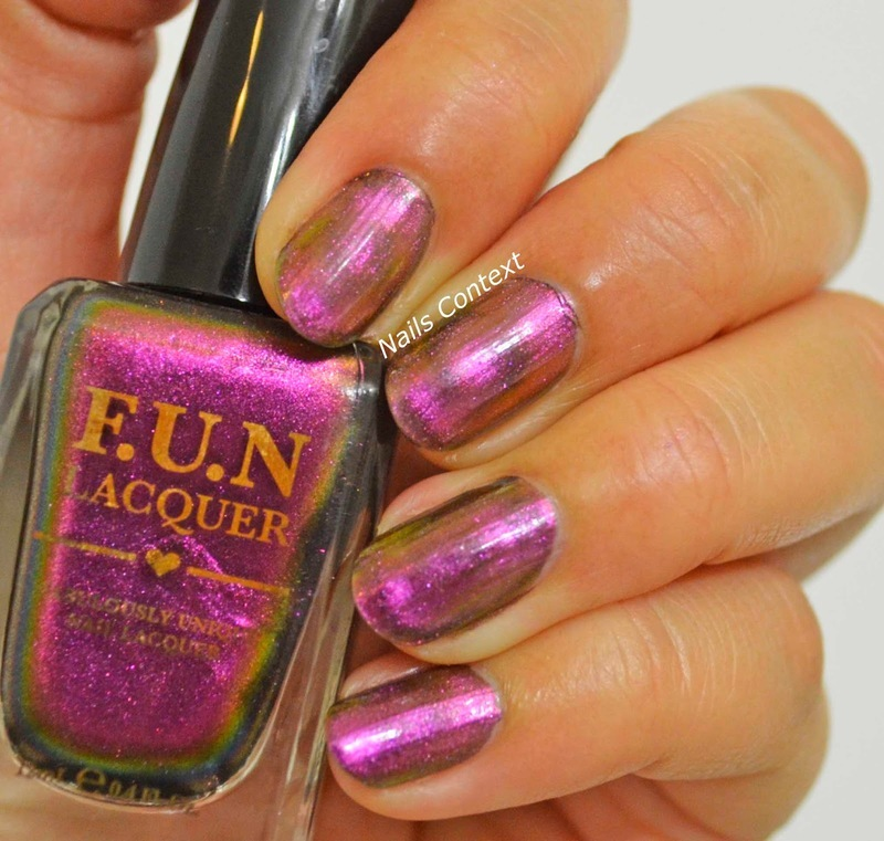 Fun Lacquer Incredible Swatch by NailsContext