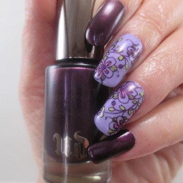 UD nail art by NinaB